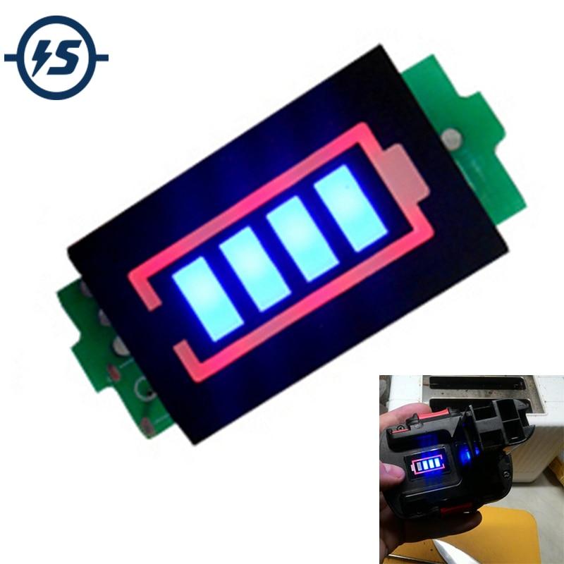 12V Lithium Battery Capacity Tester Display Panel Electric Power Indicator U