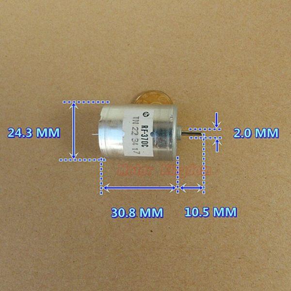 1pcs for Mabuchi RF370C Model Airplane Motor Robot Motor for sale online