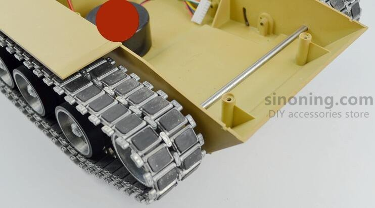 1Set Metal Track/Wheels/Screw/Spring Spare Parts Fitting for Heng Long 1/16 American M1A2 Tank 3918-1 Henglong