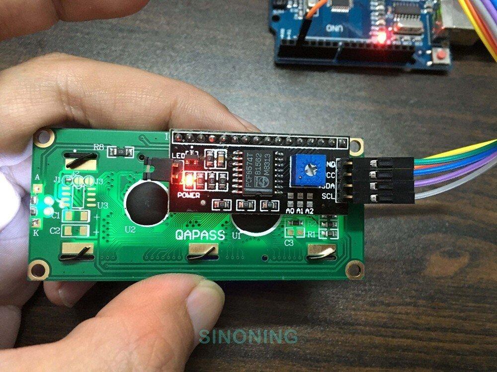 Arduino+LCD1602/I2C+DHT11 hygrothermograph Hygrometer DIY kit Smart Home