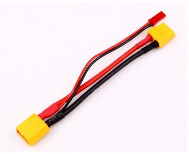 1pcs XT60 Male Convert to XT60 Female & JST Female Conversion Charger Cable Dropship