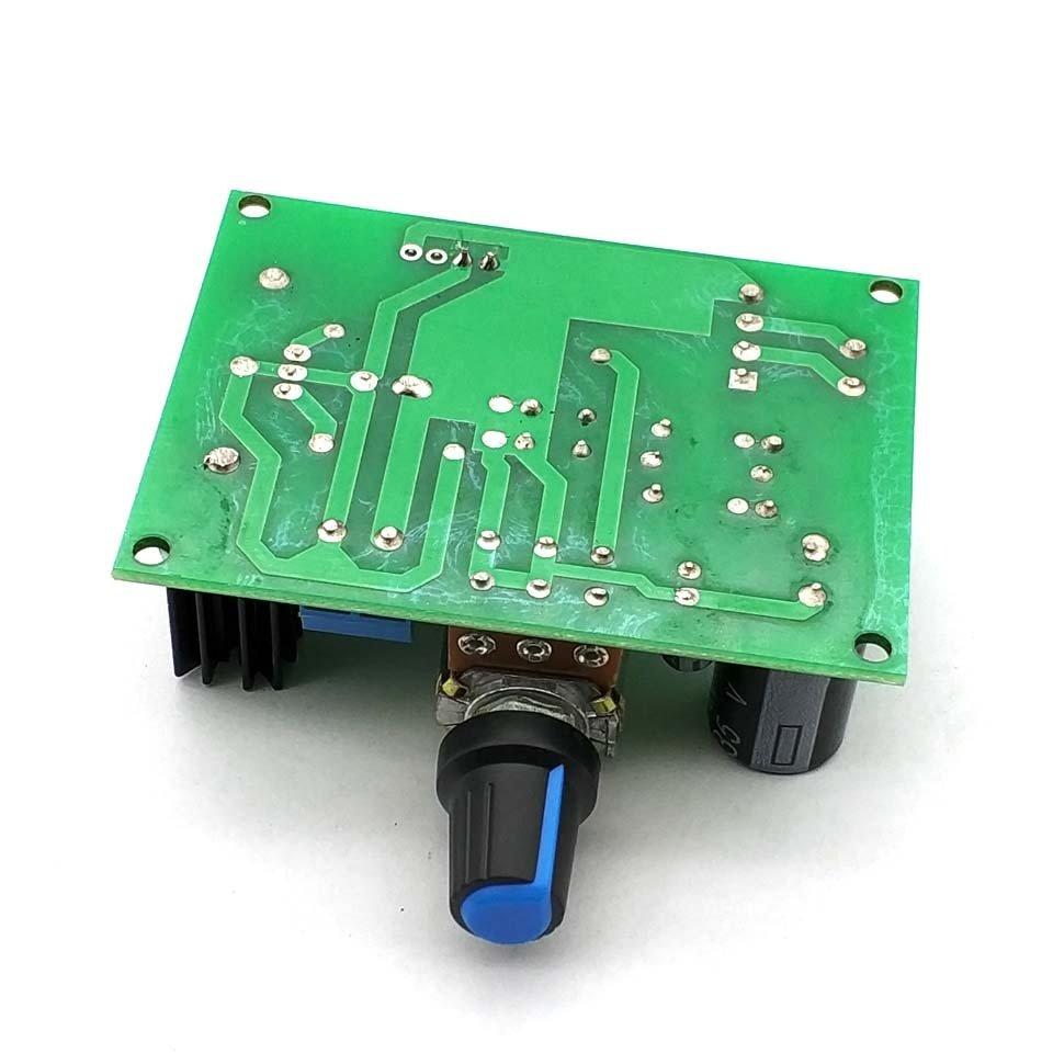 LED LM317 Step Down Power Supply Module Adjustable Voltage Regulator Input DC 0V-30V AC 0V-22V Output DC 1.25V-30V 2A