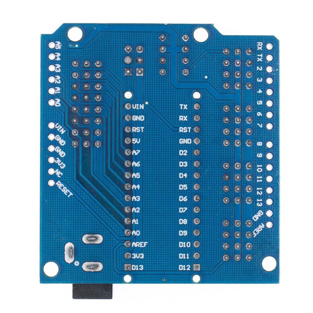 UNO Shield / Nano Shield for NANO 3.0 and UNO R3 duemilanove Expansion board