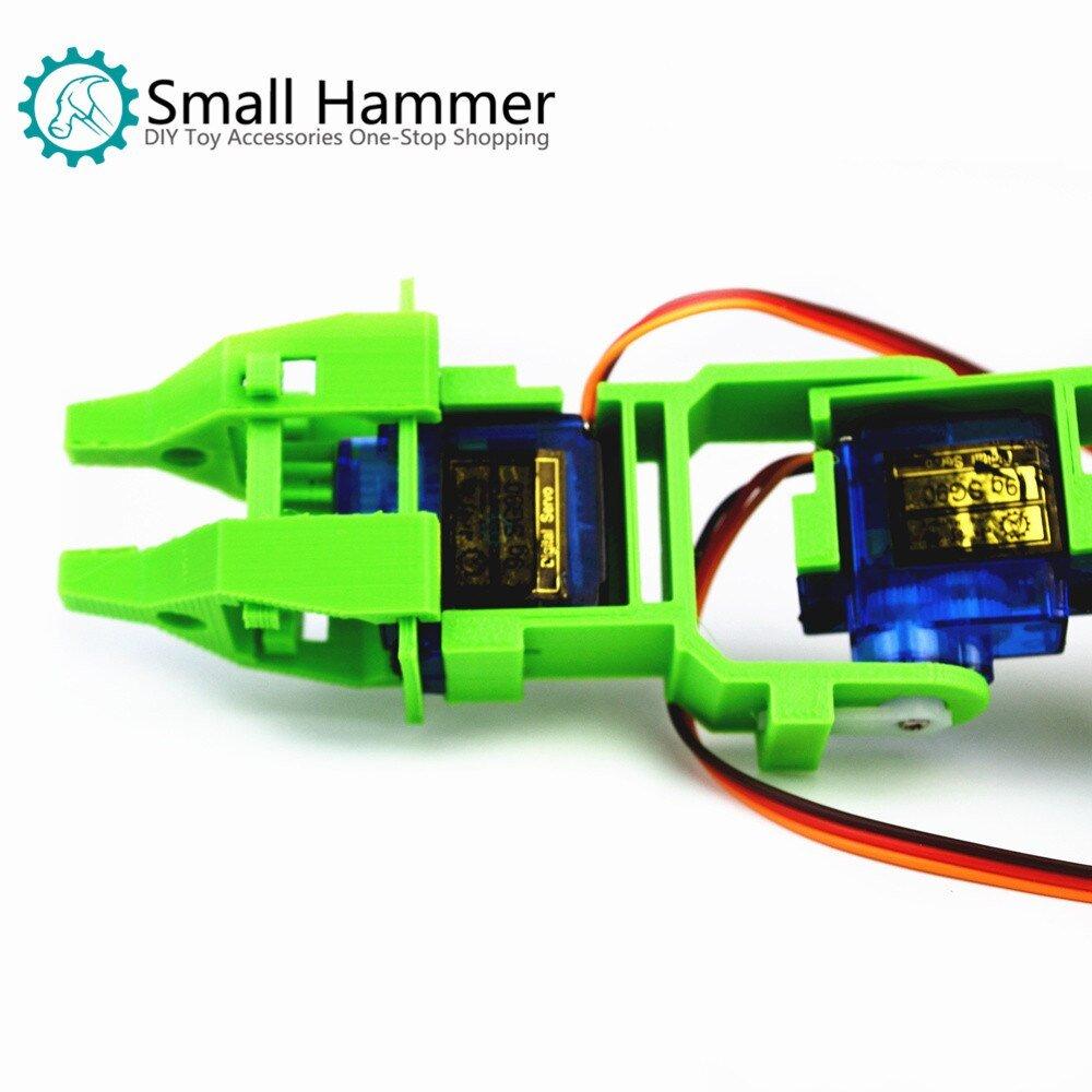 SNAM5900 3D printing four-degree-of-freedom robot arm DIY robot assembling sg90