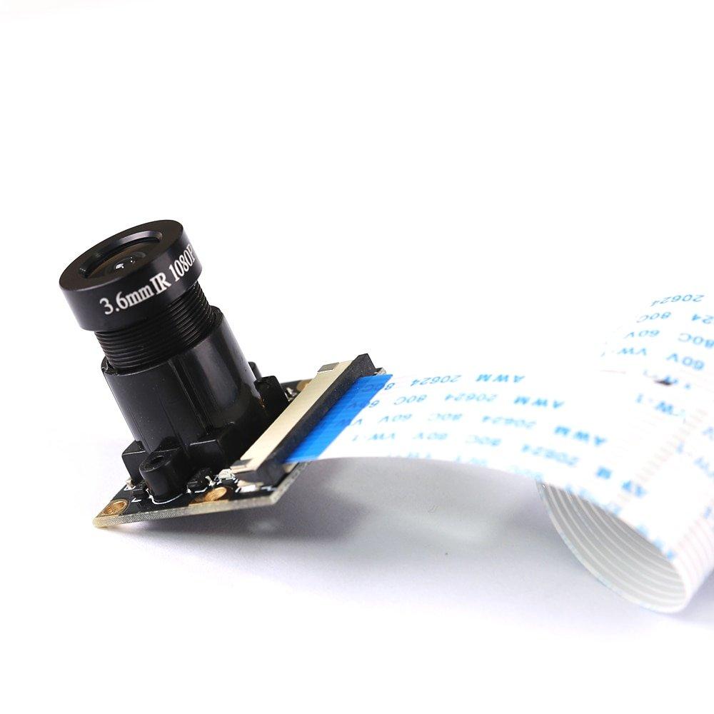 Raspberry Pi 2/3/4B 5Mp 500W Night Camera 3.6MM Wide angle lens Sensor Camera Module for Raspberry Pi AI recognition