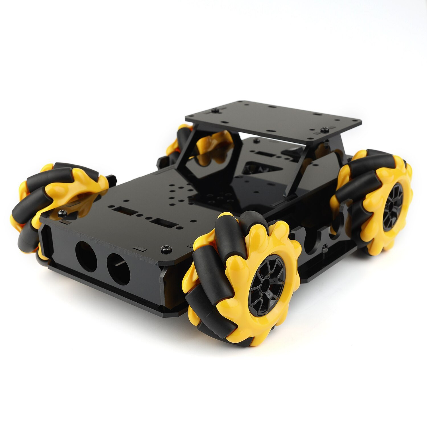 TT Motor Motor 4WD Omnidirectional Mobile Car Mecanum Wheel Smart Car Chassis Wheat Wheel 60mm