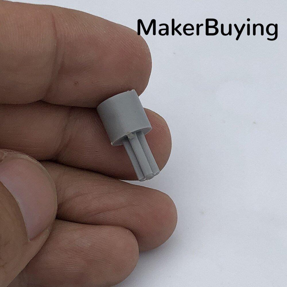 1pcs TT motor turn compatible with Lego cross shaft coupling plastic robot accessories smart car