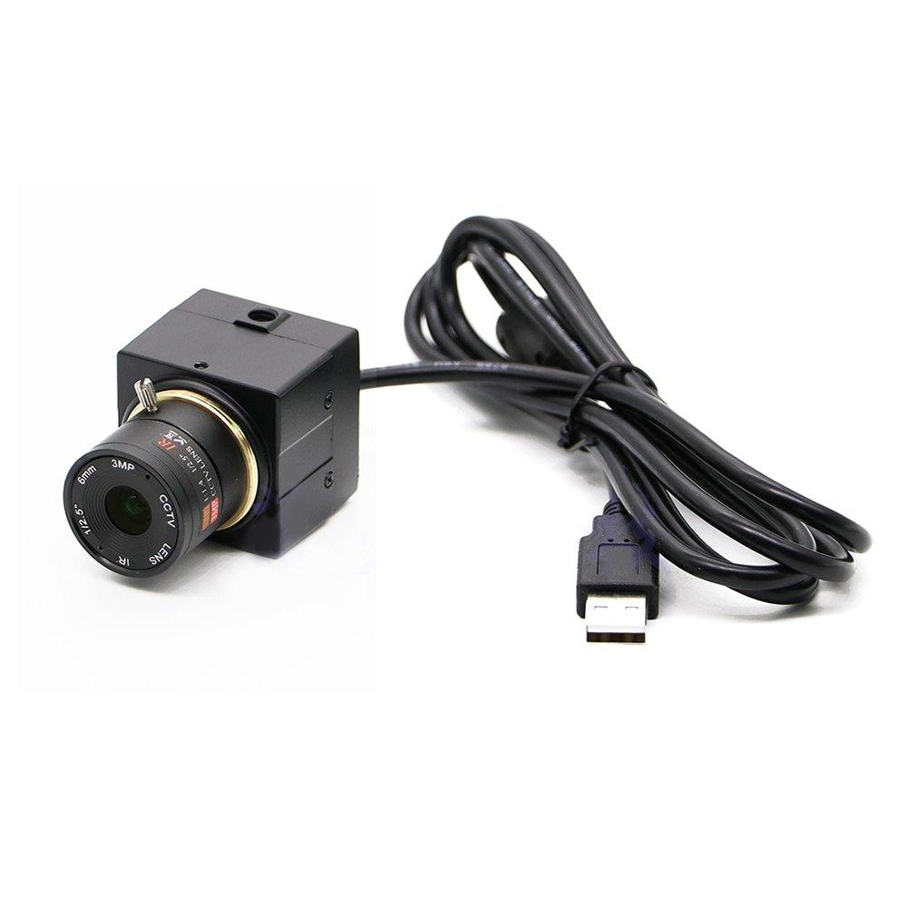 For Raspberry Pi 1080P HD 2 million color USB driver-free camera industrial Camera microscope visual Face recognition UVC