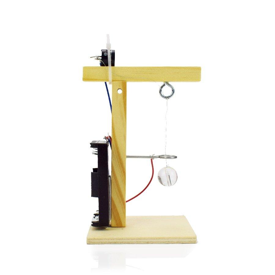Earthquake Alarm Machine Model Kit Toys for Children Creative Physics Experiment Science Children DIY Assembling Educational Toy